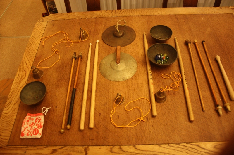 various bits of percussion